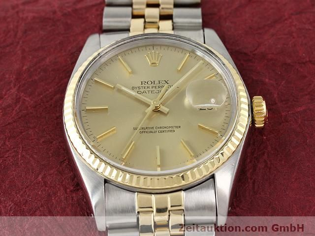 montre de luxe d occasion Rolex Datejust acier / or  automatique Kal. 3035 Ref. 16013  | 140905 15