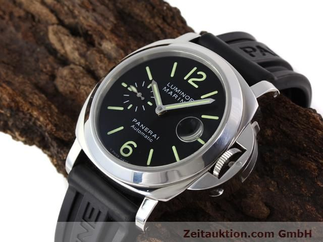 Used luxury watch Panerai Luminor Marina steel automatic Kal. ETA A05511 Ref. OP6763  | 140908 01