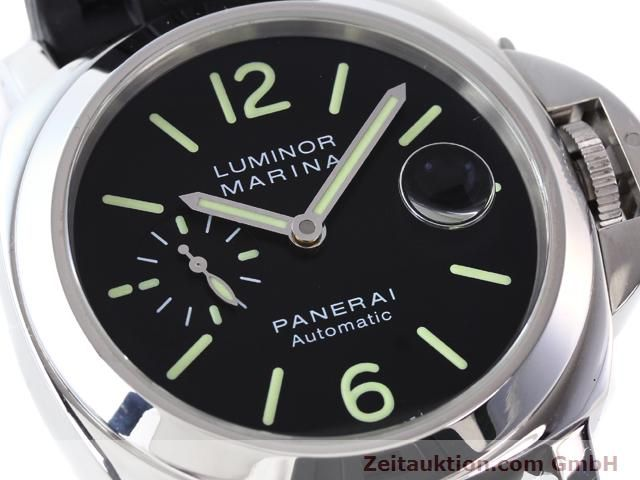 Used luxury watch Panerai Luminor Marina steel automatic Kal. ETA A05511 Ref. OP6763  | 140908 02
