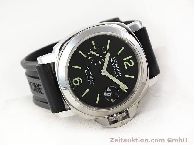 Used luxury watch Panerai Luminor Marina steel automatic Kal. ETA A05511 Ref. OP6763  | 140908 03