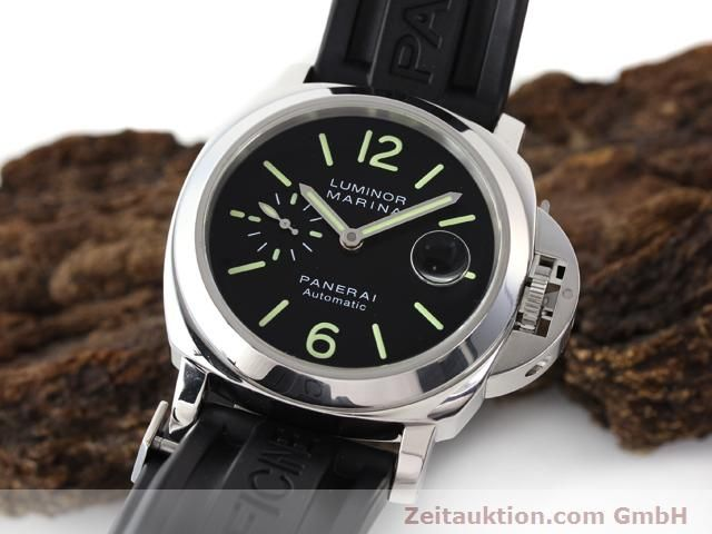 Used luxury watch Panerai Luminor Marina steel automatic Kal. ETA A05511 Ref. OP6763  | 140908 04