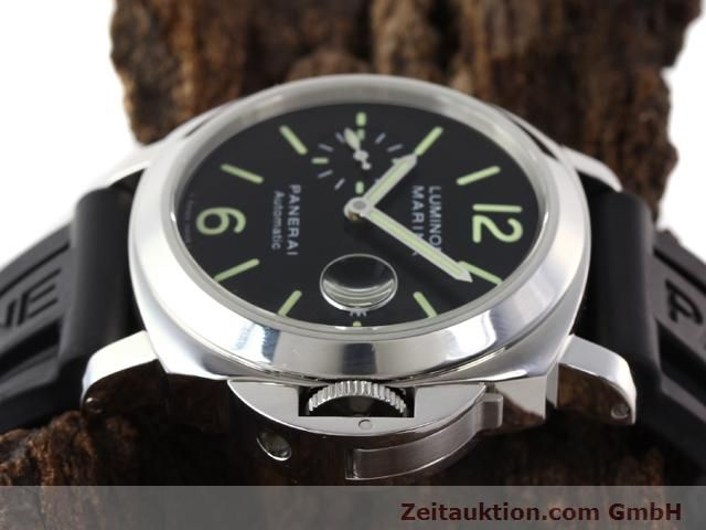 Used luxury watch Panerai Luminor Marina steel automatic Kal. ETA A05511 Ref. OP6763  | 140908 05
