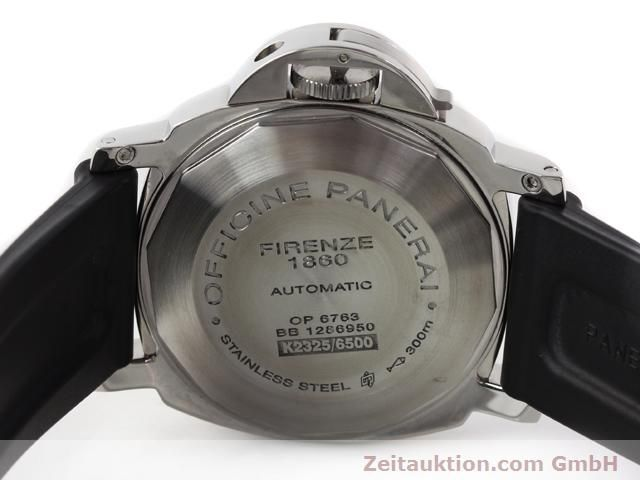 Used luxury watch Panerai Luminor Marina steel automatic Kal. ETA A05511 Ref. OP6763  | 140908 09