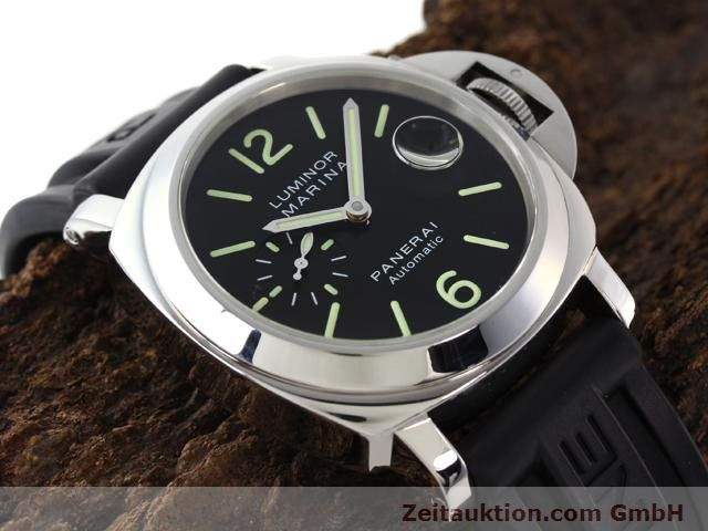 Used luxury watch Panerai Luminor Marina steel automatic Kal. ETA A05511 Ref. OP6763  | 140908 17