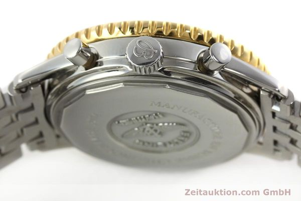Used luxury watch Breitling Navitimer chronograph steel / gold automatic Kal. ETA 2892-2 Ref. D33030  | 140910 08