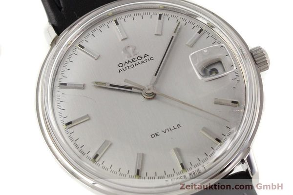Used luxury watch Omega De Ville steel automatic Ref. 166033  | 140912 02