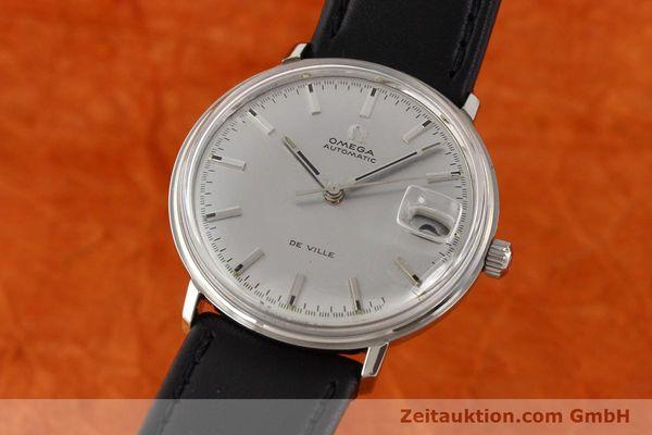 Used luxury watch Omega De Ville steel automatic Ref. 166033  | 140912 04