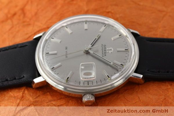 Used luxury watch Omega De Ville steel automatic Ref. 166033  | 140912 05