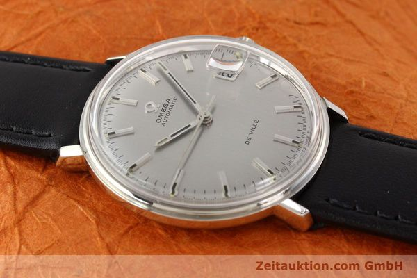 Used luxury watch Omega De Ville steel automatic Ref. 166033  | 140912 13