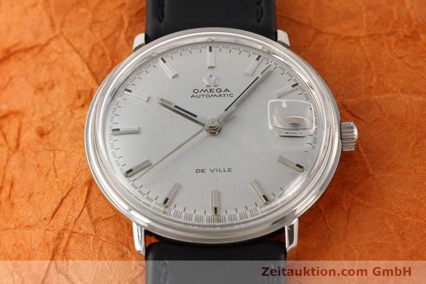 Used luxury watch Omega De Ville steel automatic Ref. 166033  | 140912 14