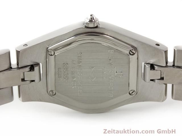 Used luxury watch Baume & Mercier Linea steel quartz Kal. 5057 Ref. 3353557  | 140914 09