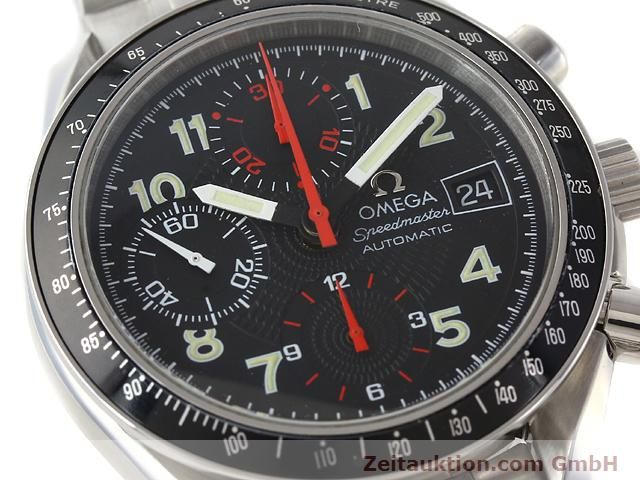 Used luxury watch Omega Speedmaster steel automatic Kal. 1152  | 140915 02