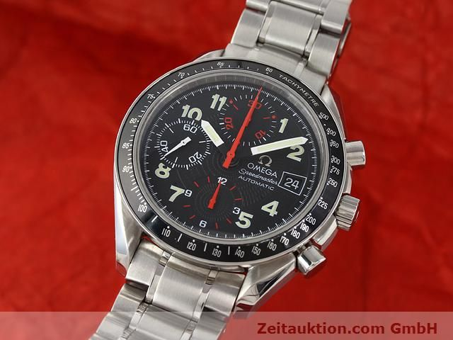 Used luxury watch Omega Speedmaster steel automatic Kal. 1152  | 140915 04