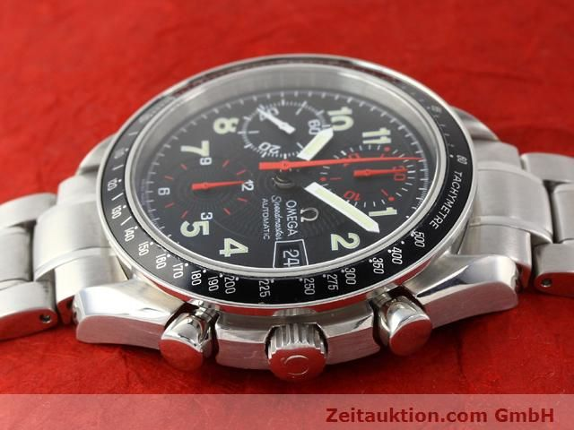 Used luxury watch Omega Speedmaster steel automatic Kal. 1152  | 140915 05