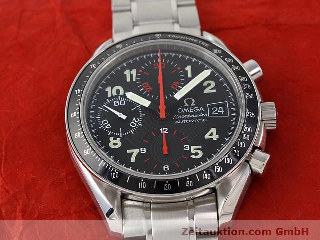 Used luxury watch Omega Speedmaster steel automatic Kal. 1152  | 140915 15