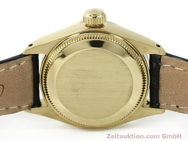 Used luxury watch Rolex Lady Date 18 ct gold automatic Kal. 2030 Ref. 6917  | 140921 08