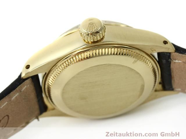 Used luxury watch Rolex Lady Date 18 ct gold automatic Kal. 2030 Ref. 6917  | 140921 11
