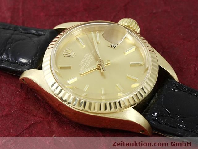 Used luxury watch Rolex Lady Date 18 ct gold automatic Kal. 2030 Ref. 6917  | 140921 13