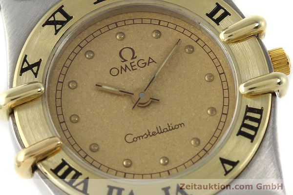 Used luxury watch Omega Constellation steel / gold quartz Kal. 1455 ETA 976001  | 140922 02