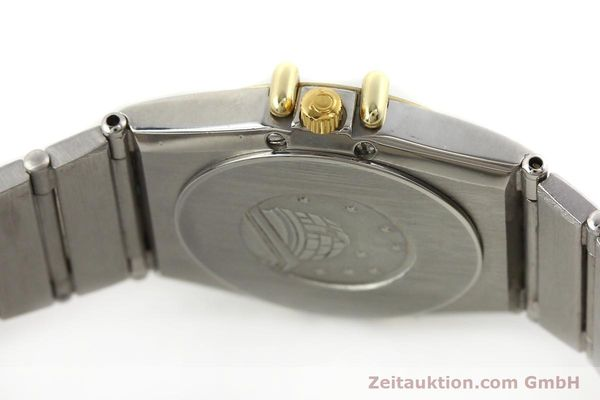 Used luxury watch Omega Constellation steel / gold quartz Kal. 1455 ETA 976001  | 140922 10