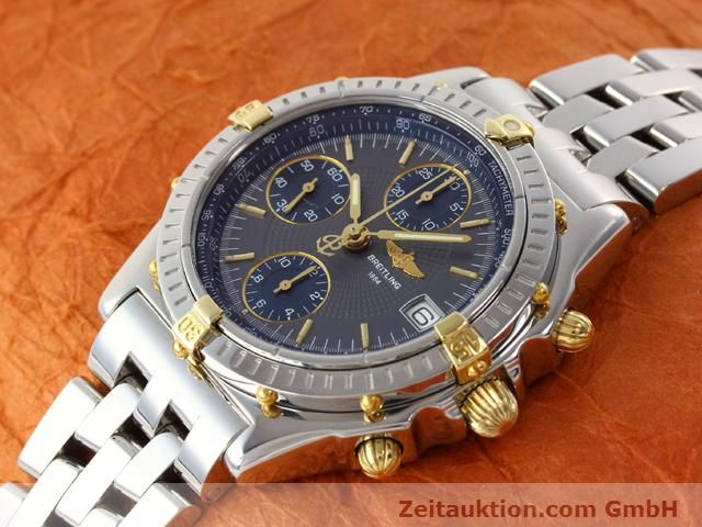 Used luxury watch Breitling Chronomat gilt steel automatic Kal. ETA 7750 Ref. B130501  | 140925 01