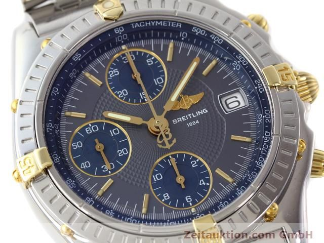 Used luxury watch Breitling Chronomat gilt steel automatic Kal. ETA 7750 Ref. B130501  | 140925 02