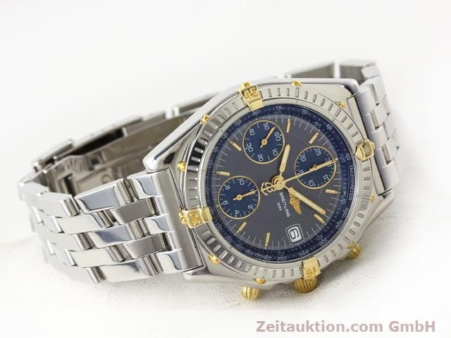Used luxury watch Breitling Chronomat gilt steel automatic Kal. ETA 7750 Ref. B130501  | 140925 03