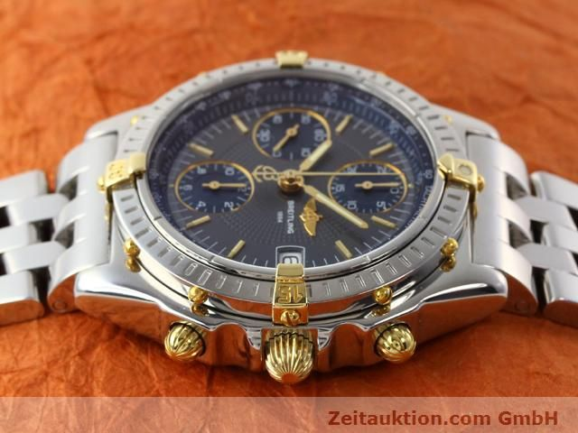 Used luxury watch Breitling Chronomat gilt steel automatic Kal. ETA 7750 Ref. B130501  | 140925 05