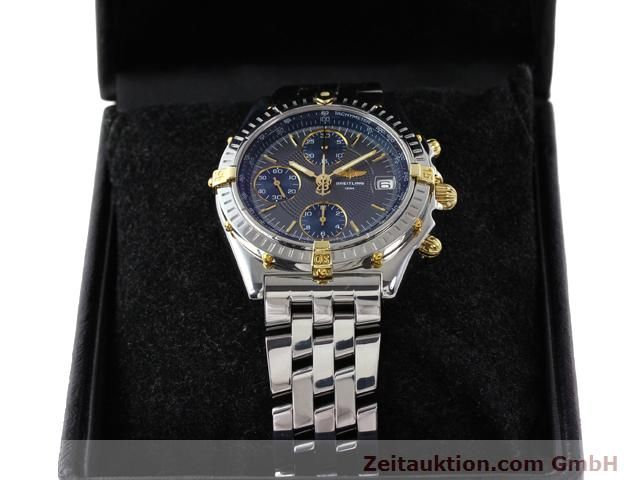 Used luxury watch Breitling Chronomat gilt steel automatic Kal. ETA 7750 Ref. B130501  | 140925 07