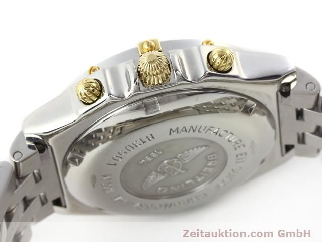 Used luxury watch Breitling Chronomat gilt steel automatic Kal. ETA 7750 Ref. B130501  | 140925 11