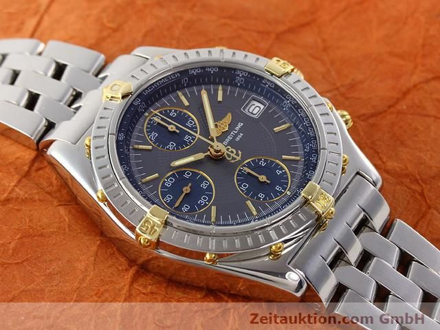Used luxury watch Breitling Chronomat gilt steel automatic Kal. ETA 7750 Ref. B130501  | 140925 14
