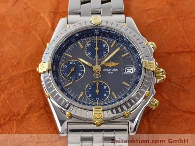 Used luxury watch Breitling Chronomat gilt steel automatic Kal. ETA 7750 Ref. B130501  | 140925 15