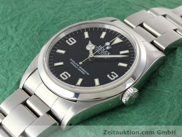Used luxury watch Rolex Explorer steel automatic Kal. 3000 Ref. 14270  | 140927 01