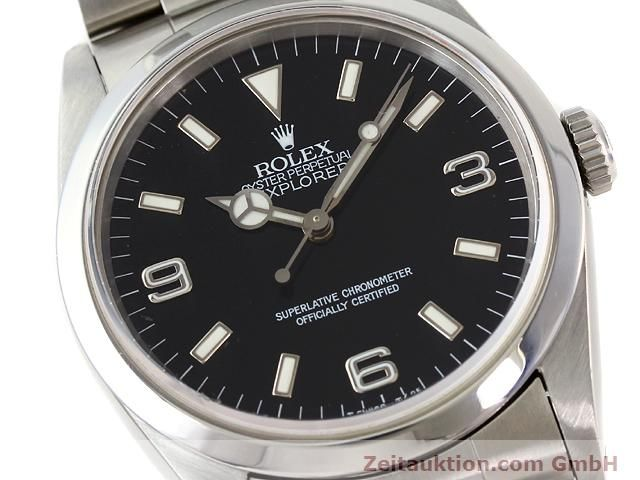 Used luxury watch Rolex Explorer steel automatic Kal. 3000 Ref. 14270  | 140927 02