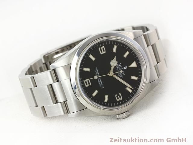 Used luxury watch Rolex Explorer steel automatic Kal. 3000 Ref. 14270  | 140927 03