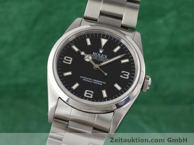 Used luxury watch Rolex Explorer steel automatic Kal. 3000 Ref. 14270  | 140927 04