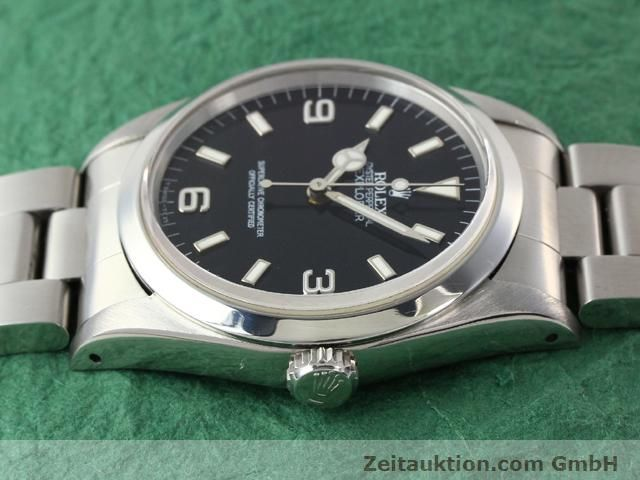 Used luxury watch Rolex Explorer steel automatic Kal. 3000 Ref. 14270  | 140927 05