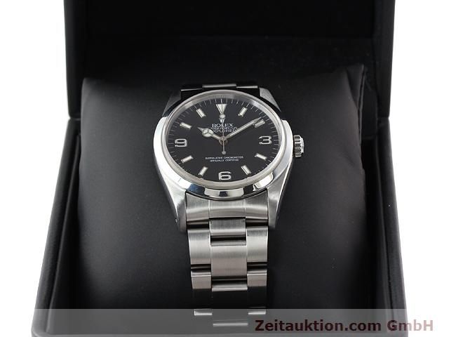 Used luxury watch Rolex Explorer steel automatic Kal. 3000 Ref. 14270  | 140927 07