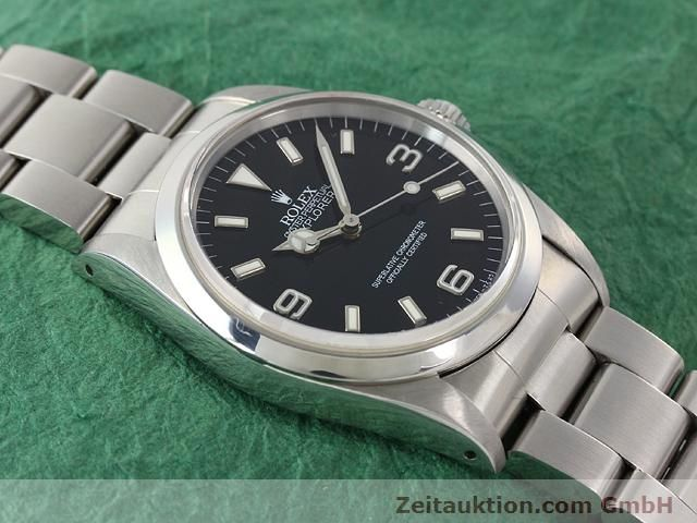 Used luxury watch Rolex Explorer steel automatic Kal. 3000 Ref. 14270  | 140927 14