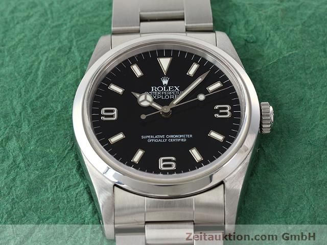 Used luxury watch Rolex Explorer steel automatic Kal. 3000 Ref. 14270  | 140927 15