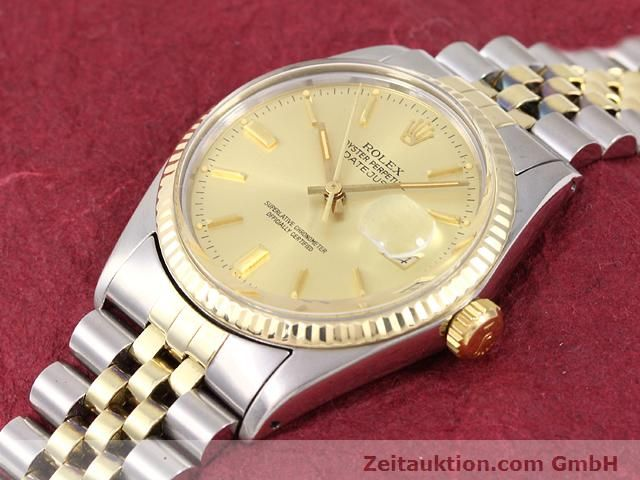 Used luxury watch Rolex Datejust steel / gold automatic Kal. 3035 Ref. 14270  | 140928 01