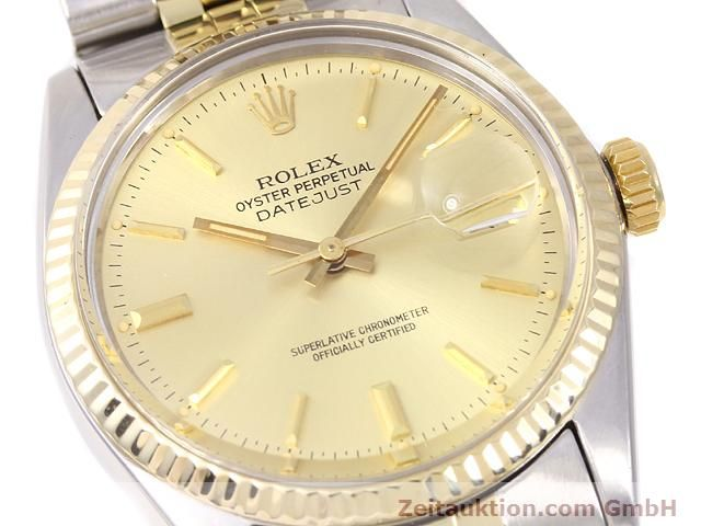 Used luxury watch Rolex Datejust steel / gold automatic Kal. 3035 Ref. 14270  | 140928 02