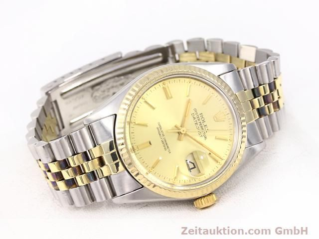 Used luxury watch Rolex Datejust steel / gold automatic Kal. 3035 Ref. 14270  | 140928 03