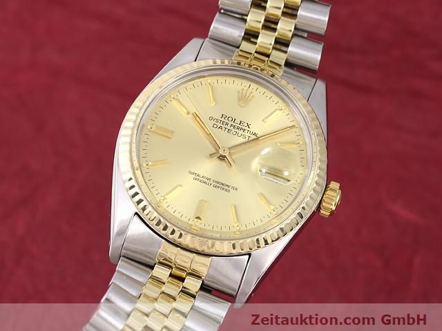 Used luxury watch Rolex Datejust steel / gold automatic Kal. 3035 Ref. 14270  | 140928 04