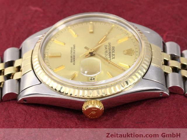 Used luxury watch Rolex Datejust steel / gold automatic Kal. 3035 Ref. 14270  | 140928 05