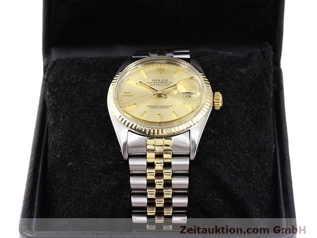 Used luxury watch Rolex Datejust steel / gold automatic Kal. 3035 Ref. 14270  | 140928 07