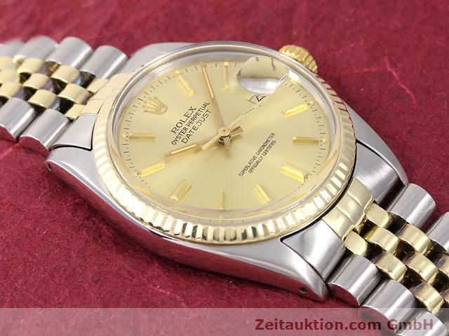 Used luxury watch Rolex Datejust steel / gold automatic Kal. 3035 Ref. 14270  | 140928 13