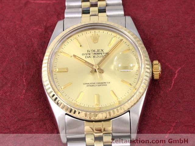 Used luxury watch Rolex Datejust steel / gold automatic Kal. 3035 Ref. 14270  | 140928 14