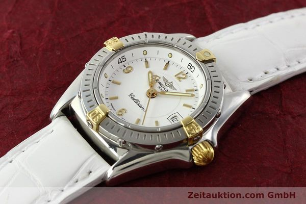 Used luxury watch Breitling Callistino gilt steel quartz Ref. B520451  | 140929 01