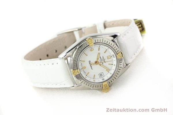 Used luxury watch Breitling Callistino gilt steel quartz Ref. B520451  | 140929 03